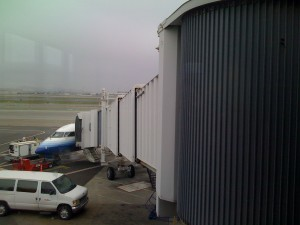 Big Jetway - tiny plane