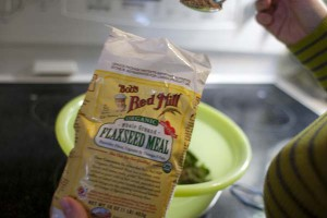 2 tbsp flaxseed meal (omega 3 fats)